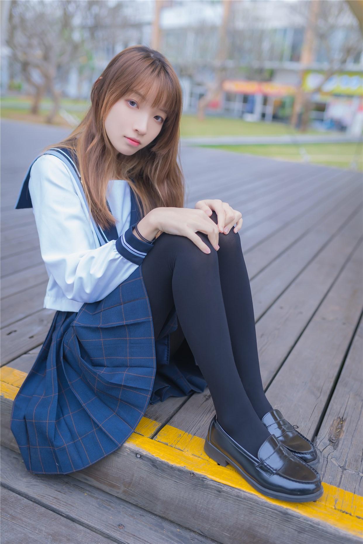 【兔玩映画】小清新JK少女 兔玩映画 第16张