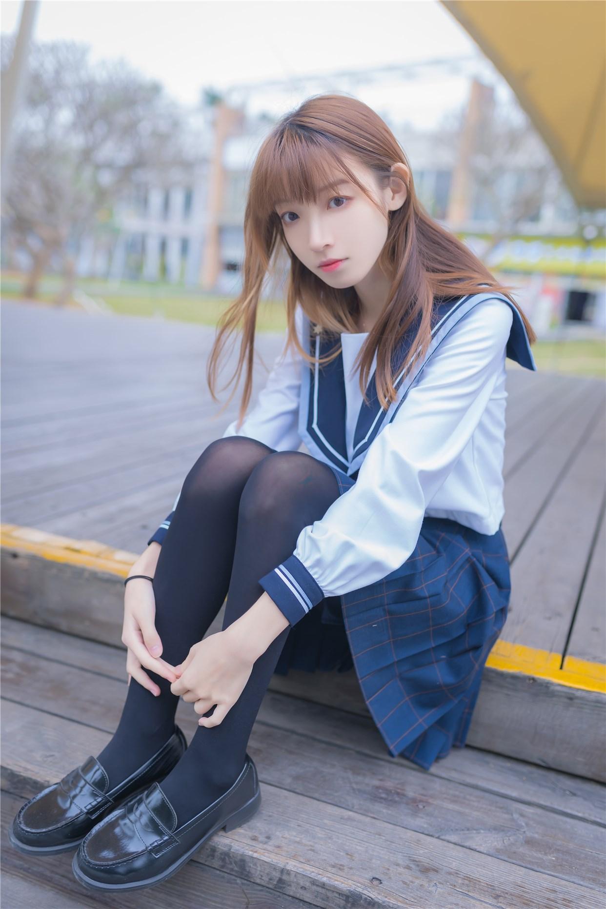 【兔玩映画】小清新JK少女 兔玩映画 第13张