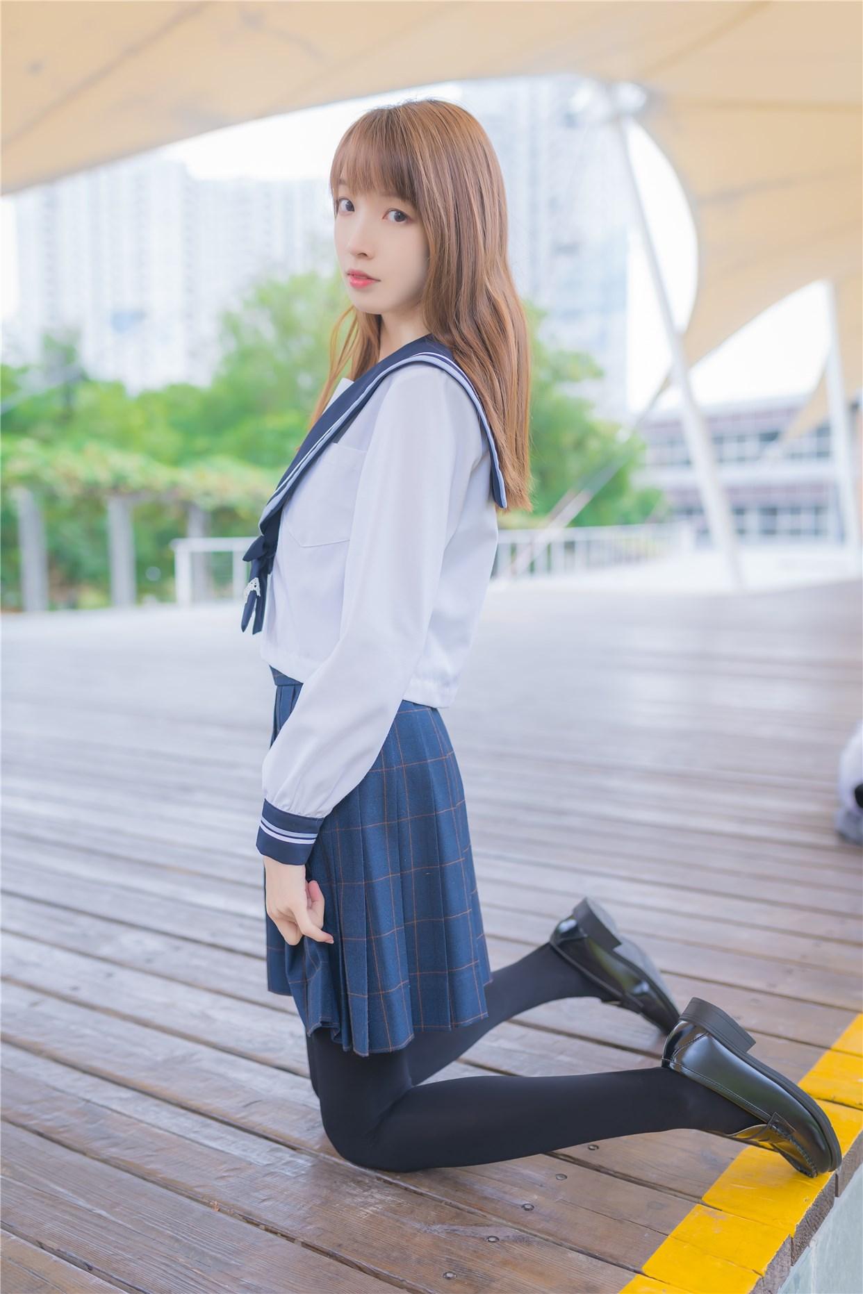 【兔玩映画】小清新JK少女 兔玩映画 第9张