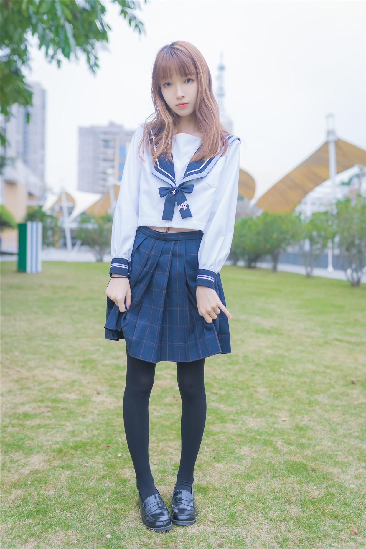 【兔玩映画】小清新JK少女 兔玩映画 第8张