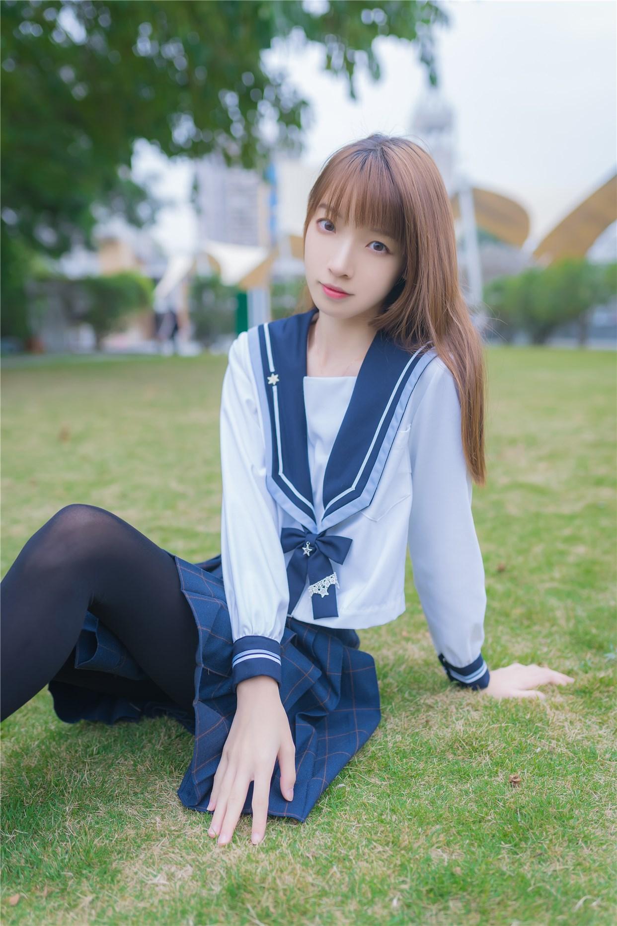 【兔玩映画】小清新JK少女 兔玩映画 第5张