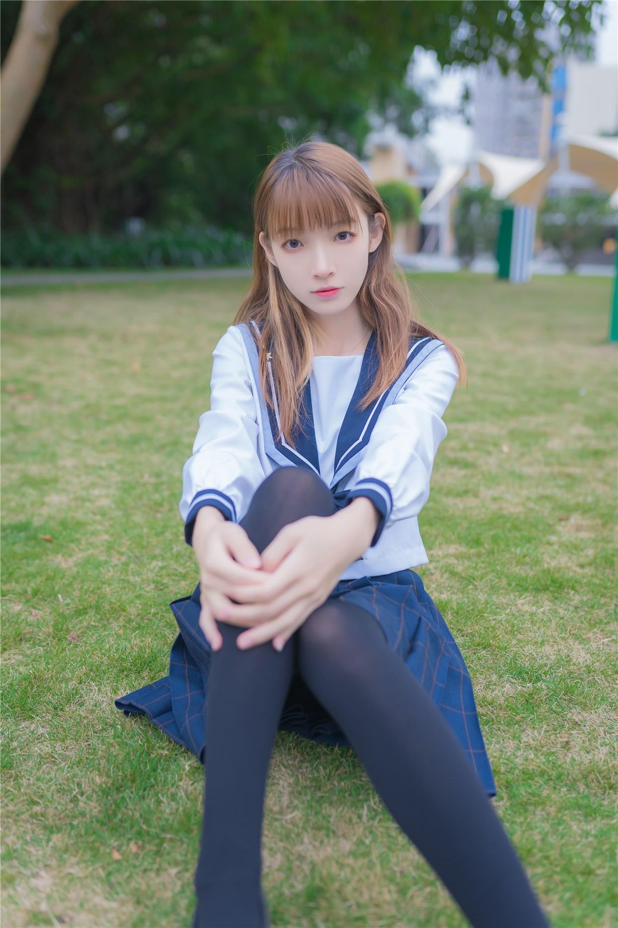 【兔玩映画】小清新JK少女 兔玩映画 第4张