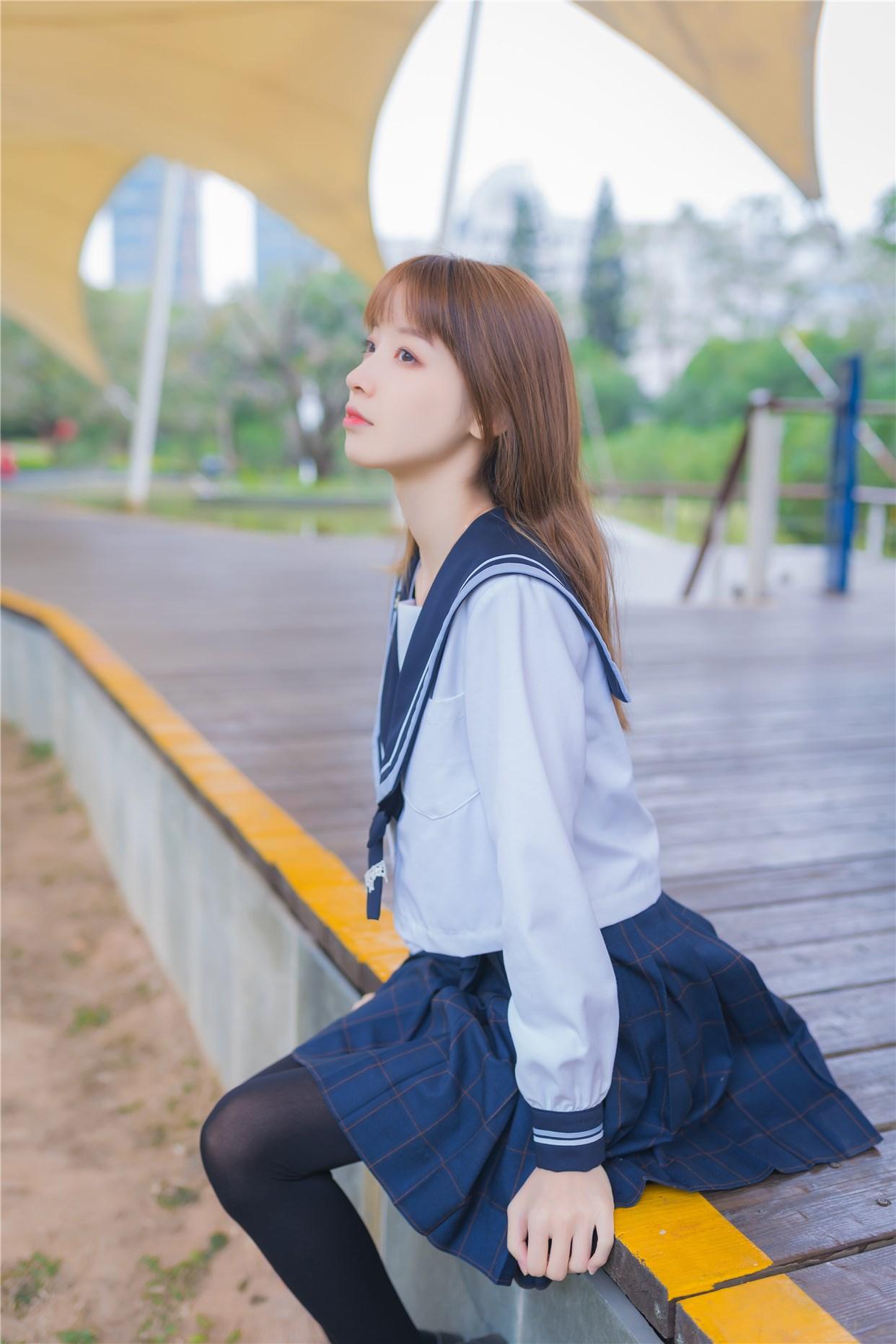 【兔玩映画】小清新JK少女 兔玩映画 第1张