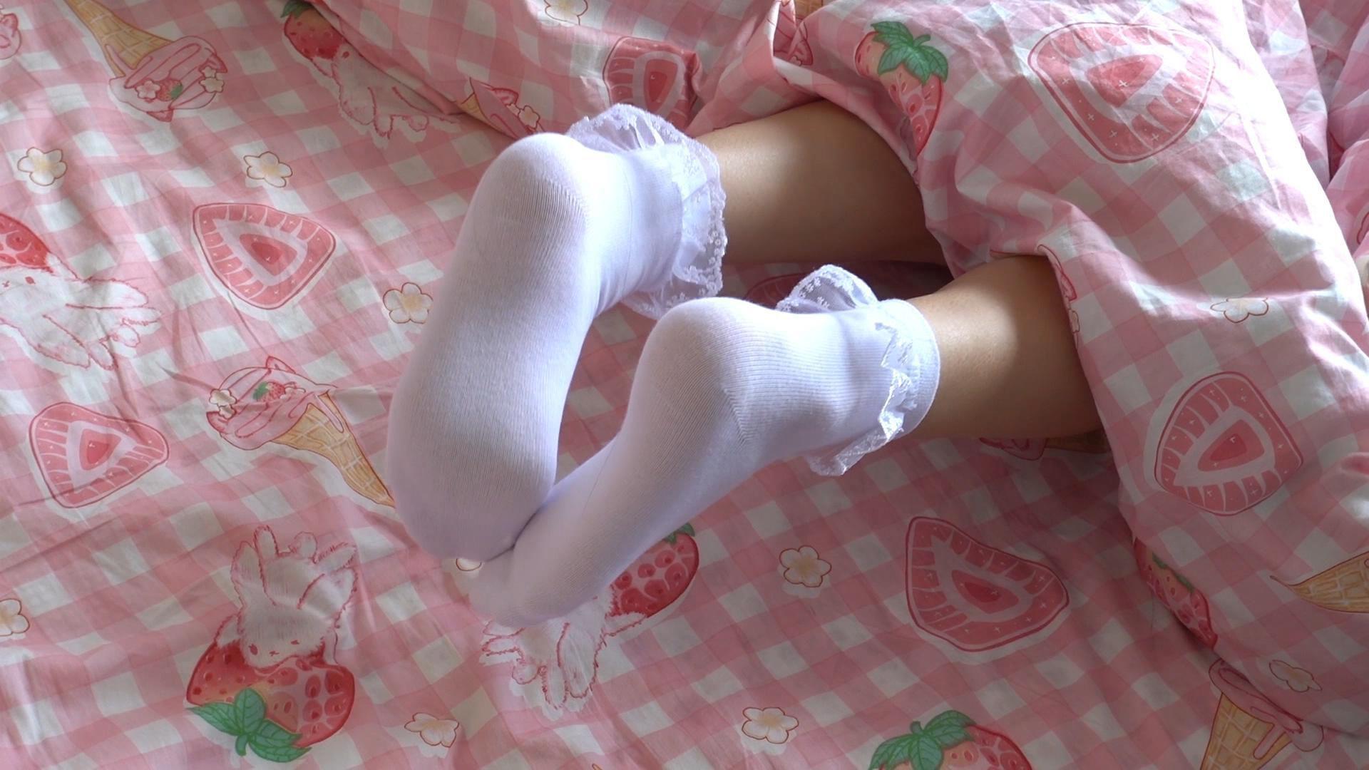 【森萝财团】 森萝财团写真 – JKFUN-037 白花边短袜TK [1V-701MB] JKFUN 第1张