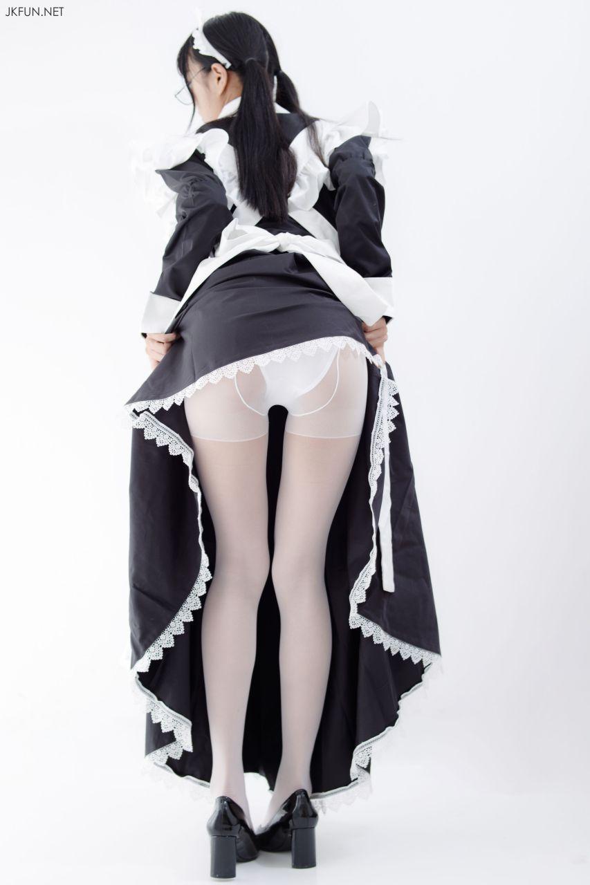 【森萝财团】 森萝财团写真 – JKFUN-017 眼镜白丝女仆 [127P-1V-2.31GB] JKFUN 第3张
