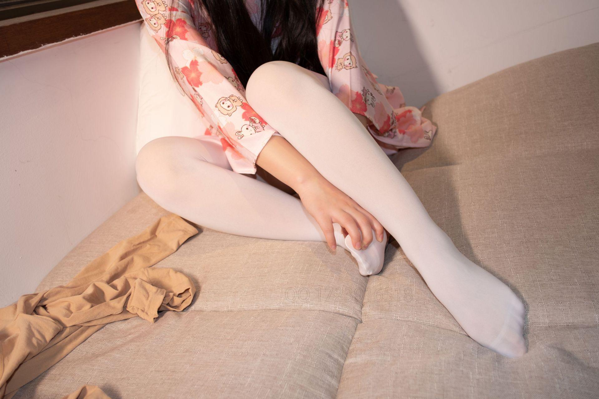 【森萝财团】爱花写真-ALPHA-014 白丝 樱花兔子和服浴衣 [76P-823MB] 森萝财团 第3张