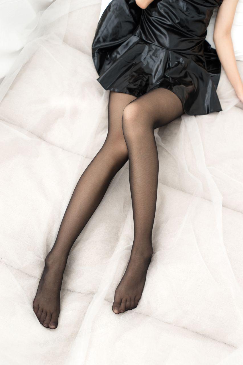 【森萝财团】森萝财团写真 - BETA-038 黑丝亮皮连衣超短裙 [57P-513MB] BETA系列 第3张