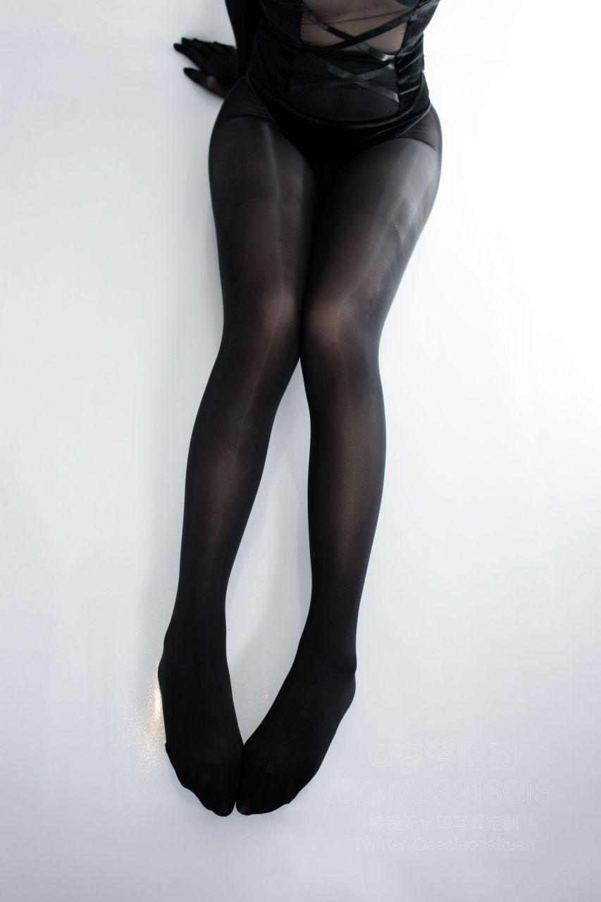 【森萝财团】森萝财团写真 - WTMSB-002 黑丝网袜兔女郎 [142P-1V-2.29GB] WTMSB系列 第4张