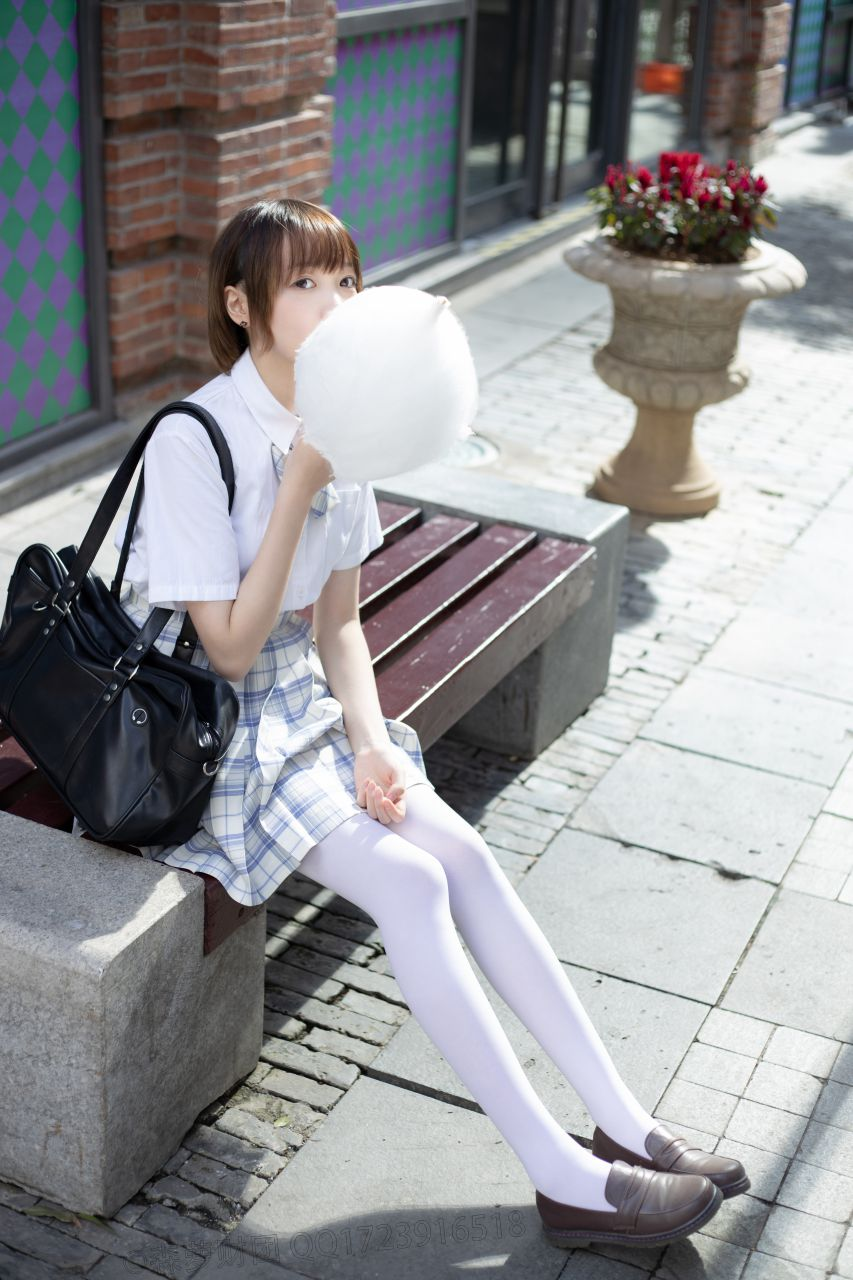 【森萝财团】森萝财团写真 - SSR-011 白丝棉花糖女孩 [104P-1.38GB] SSR系列 第1张