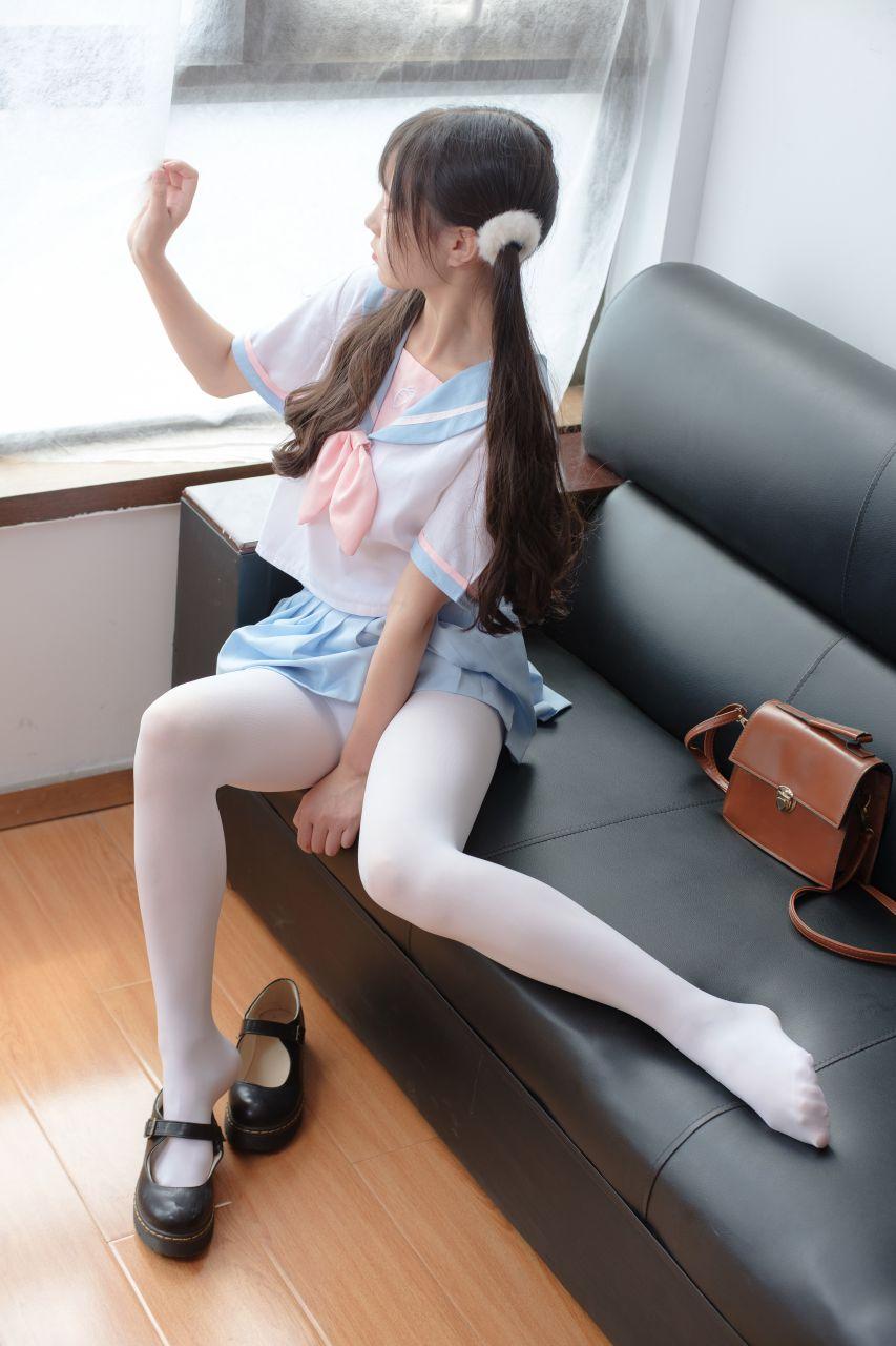 【森萝财团】森萝财团写真 – X-037 可爱蓝色水手服 [75P-1V-2.29GB] X系列 第3张