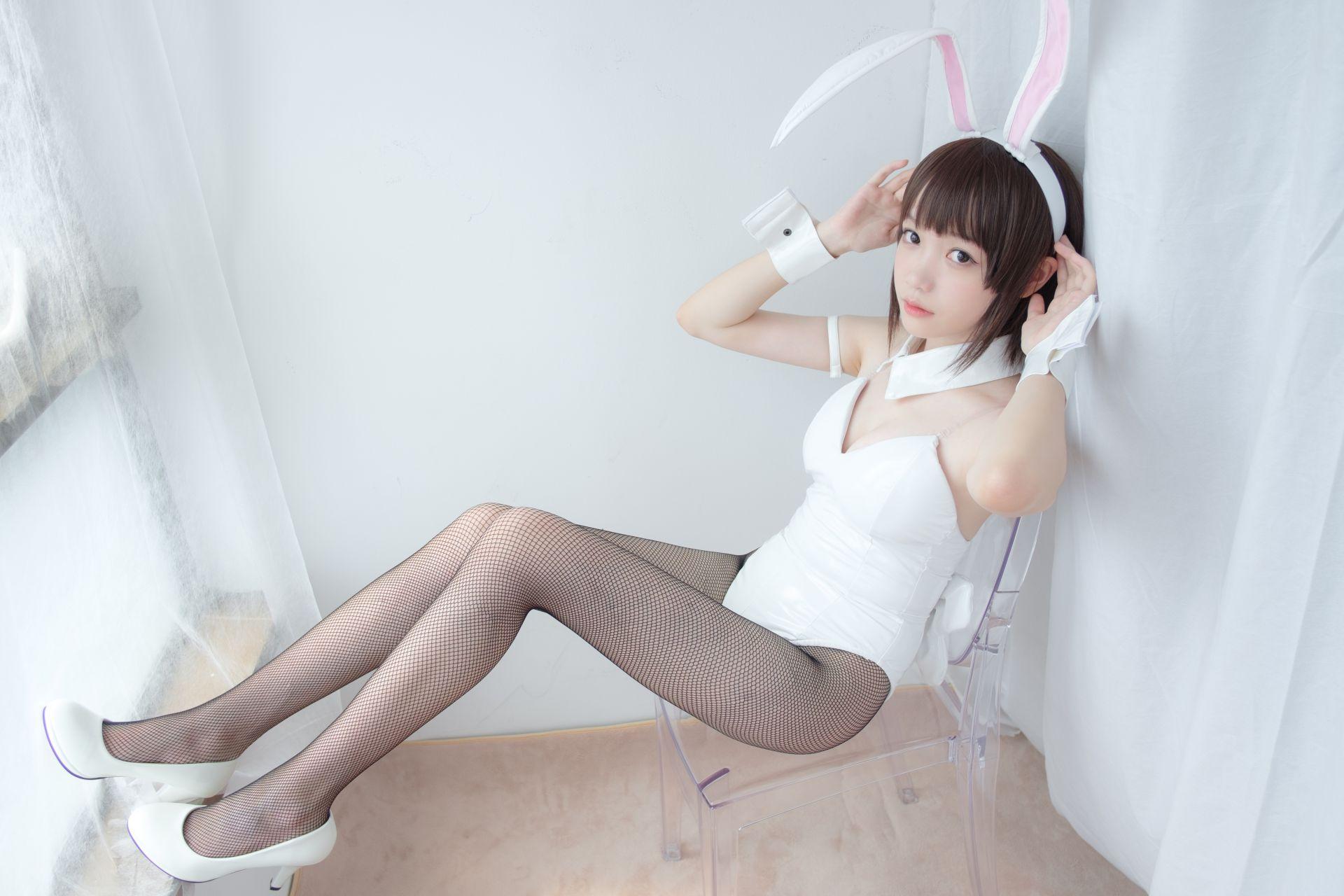 【森萝财团】森萝财团写真 - LOVEPLUS-001 黑丝网袜兔女郎 [148P2V-3.22GB] LOVEPLUS系列 第2张