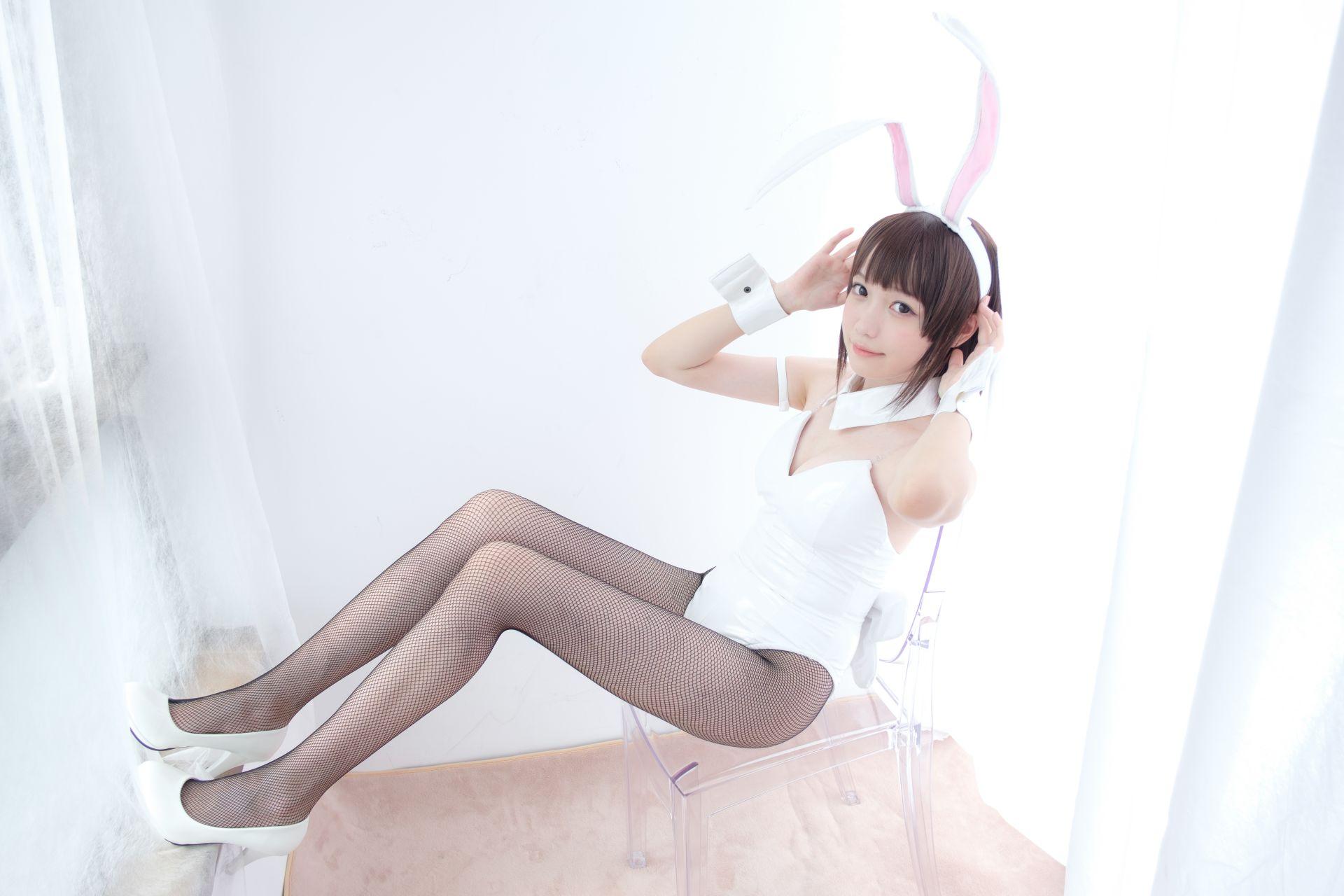 【森萝财团】森萝财团写真 - LOVEPLUS-001 黑丝网袜兔女郎 [148P2V-3.22GB] LOVEPLUS系列 第3张