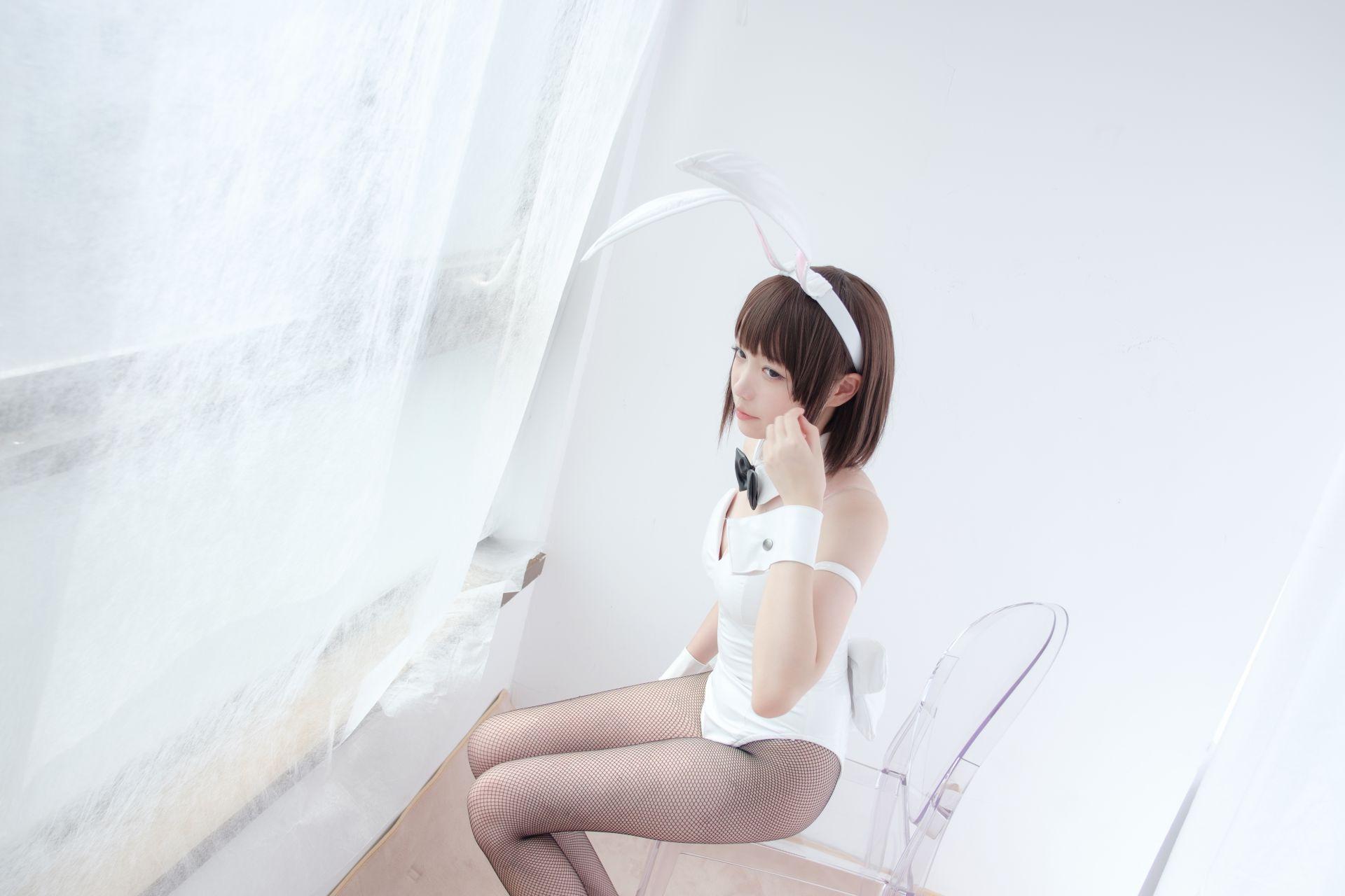 【森萝财团】森萝财团写真 - LOVEPLUS-001 黑丝网袜兔女郎 [148P2V-3.22GB] LOVEPLUS系列 第5张