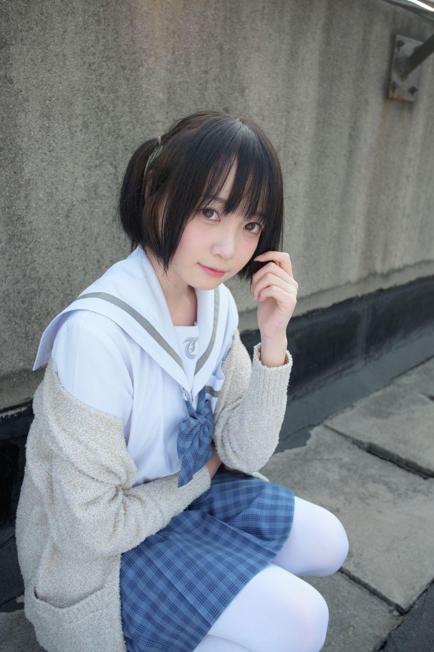 【森萝财团】森萝财团写真 – SSR-001 天台上的白丝 [74P-494MB] SSR系列 第3张