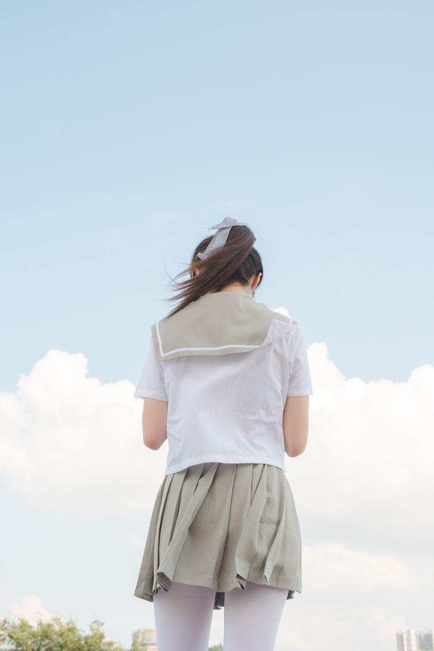 【森萝财团】森萝财团写真 - R15-026 JK白丝户外 [79P-426MB] R15系列 第4张