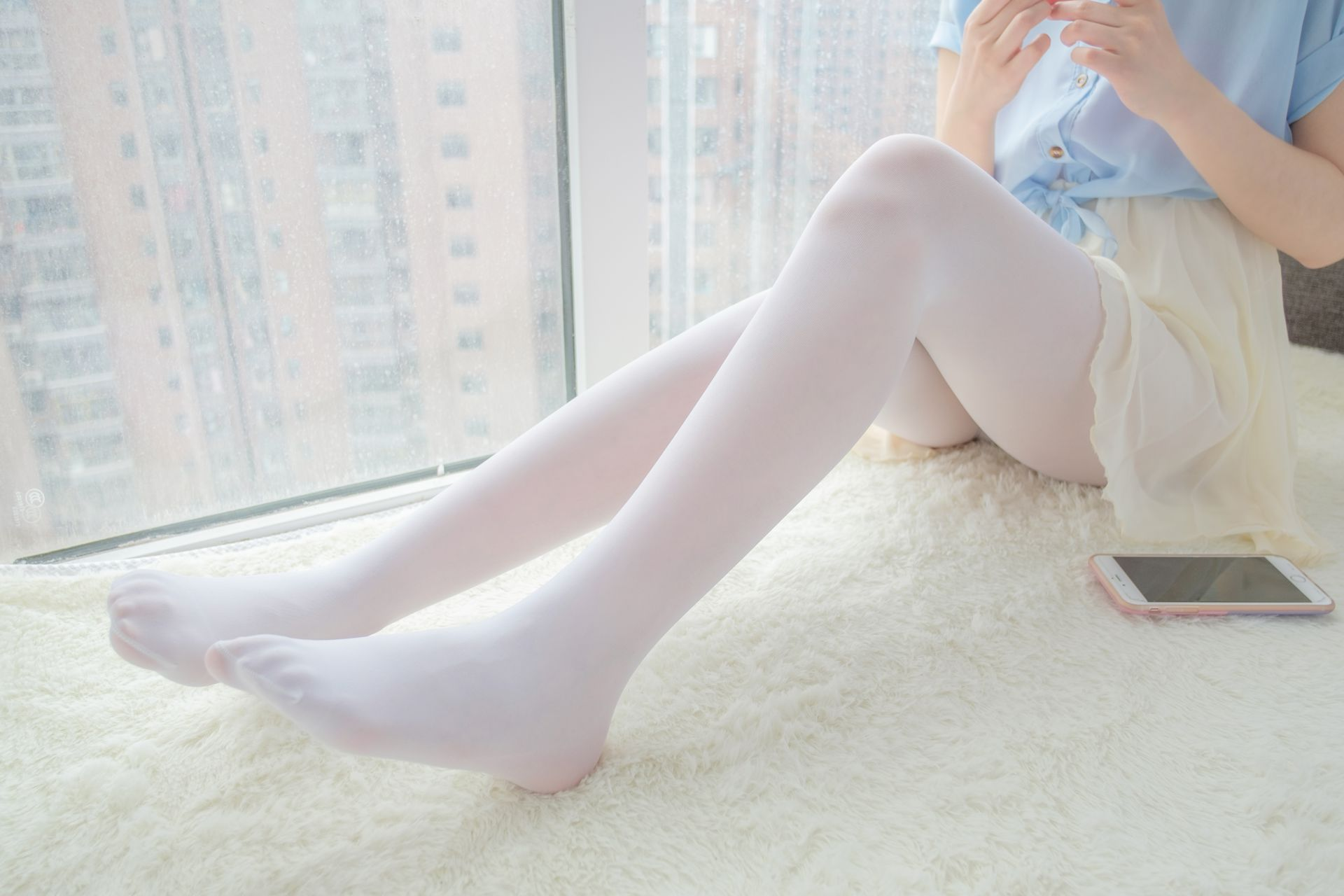 【森萝财团】森萝财团写真 - R15-007 窗台上的薄纱少女 [83P-520MB] R15系列 第4张
