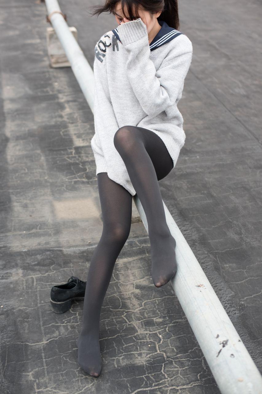 【森萝财团】森萝财团写真 - BETA-007楼梯间的黑丝小妹 [47P-285MB] BETA系列 第4张