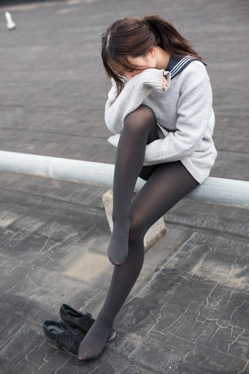 【森萝财团】森萝财团写真 - BETA-007楼梯间的黑丝小妹 [47P-285MB] BETA系列 第2张