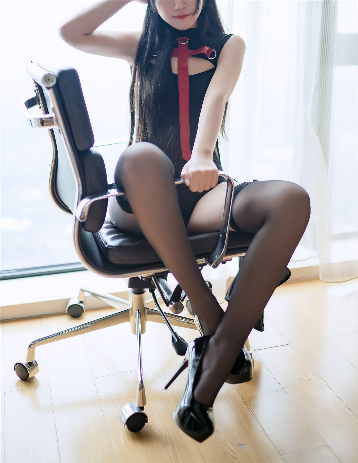 【兔玩映画】黑丝高跟鞋 兔玩映画 第40张