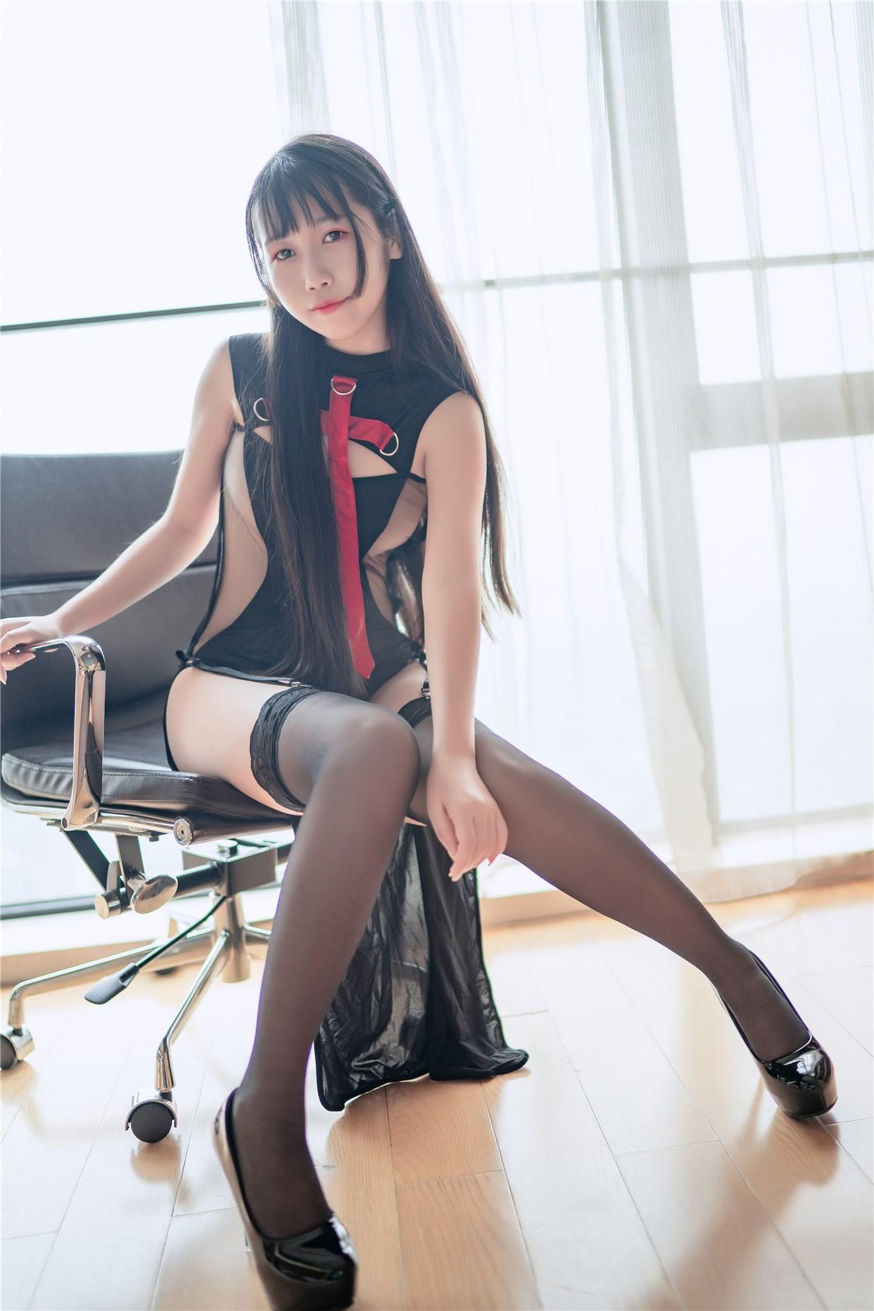 【兔玩映画】黑丝高跟鞋 兔玩映画 第39张