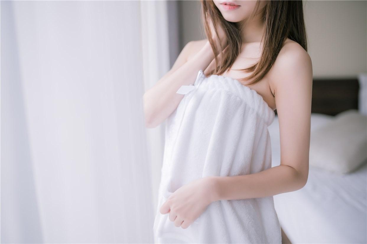 【兔玩映画】vol.18-纯白浴巾 兔玩映画 第41张