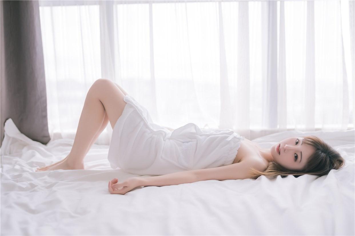 【兔玩映画】vol.18-纯白浴巾 兔玩映画 第25张