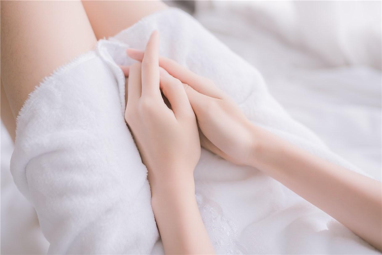 【兔玩映画】vol.18-纯白浴巾 兔玩映画 第26张