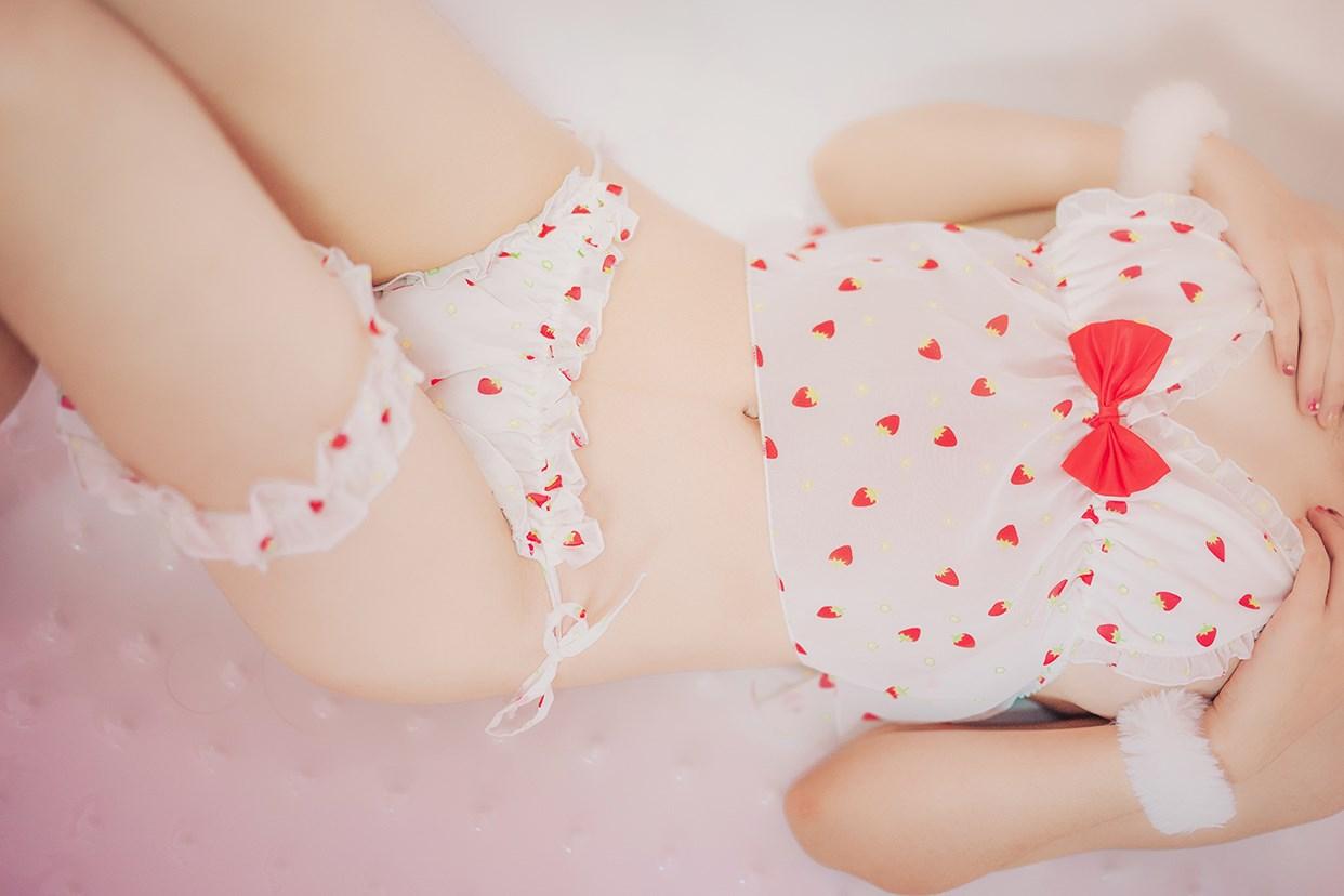 【兔玩映画】草莓睡衣 兔玩映画 第38张