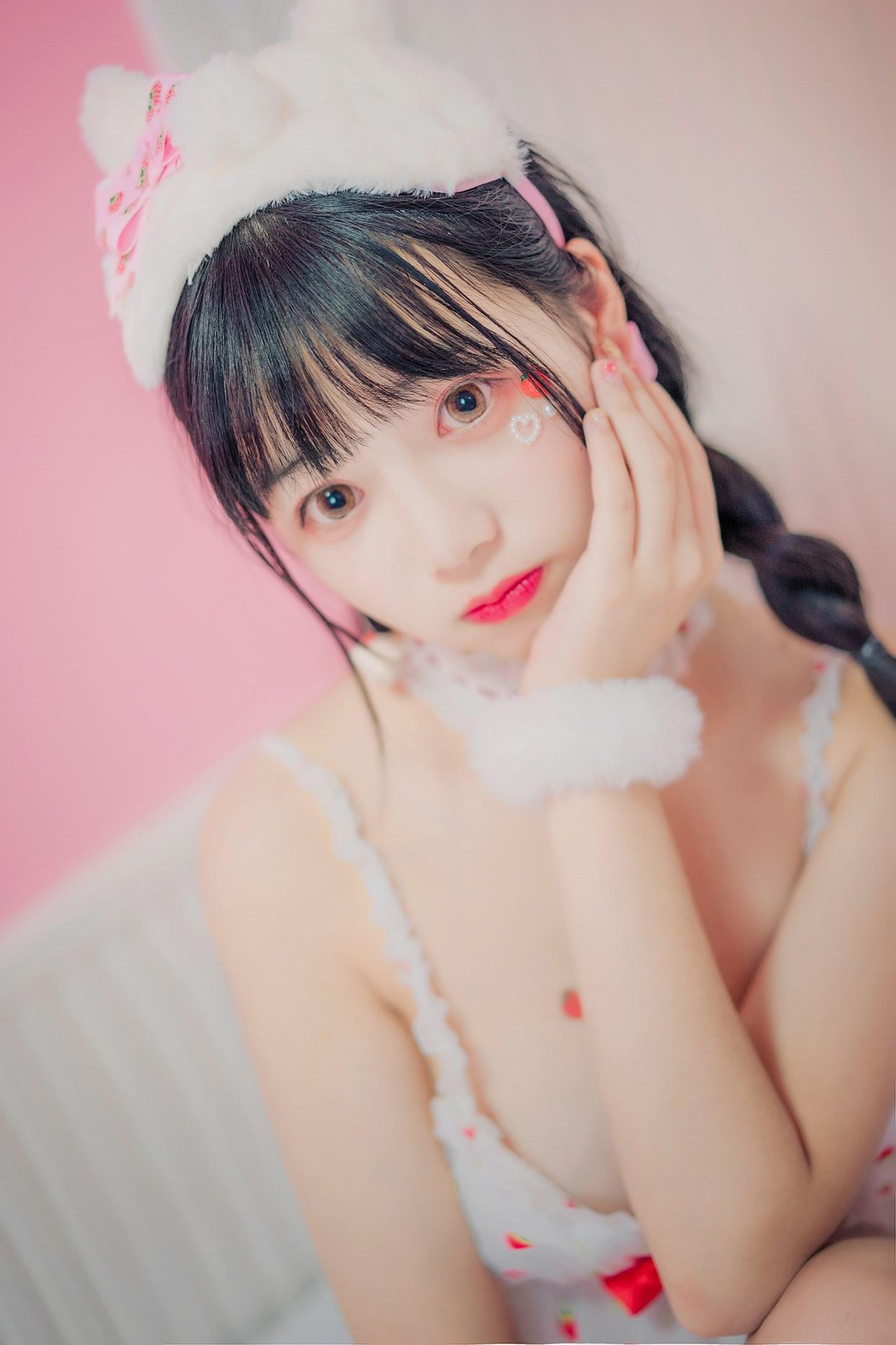 【兔玩映画】草莓睡衣 兔玩映画 第9张