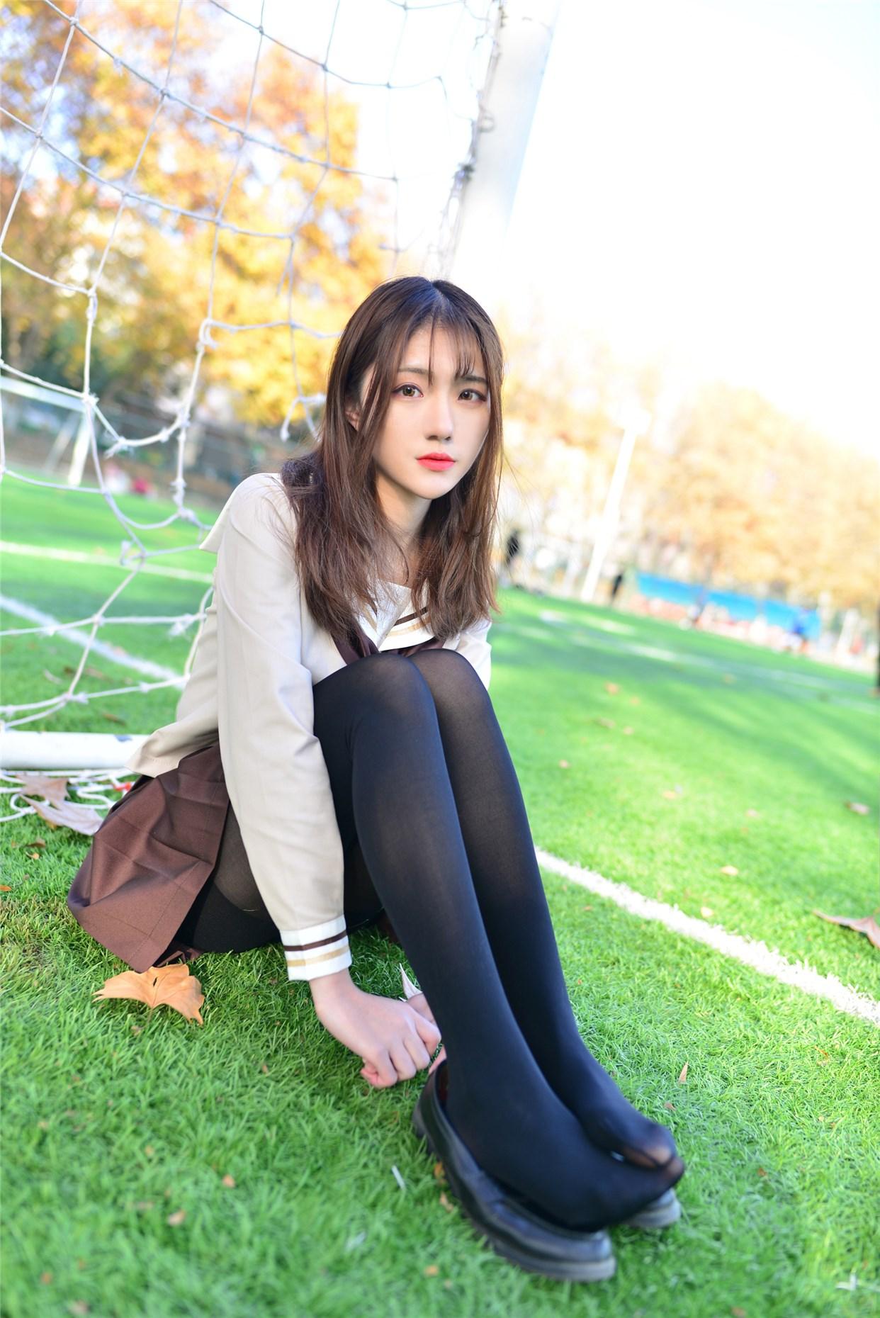 【兔玩映画】冬天里的JK黑丝 兔玩映画 第31张
