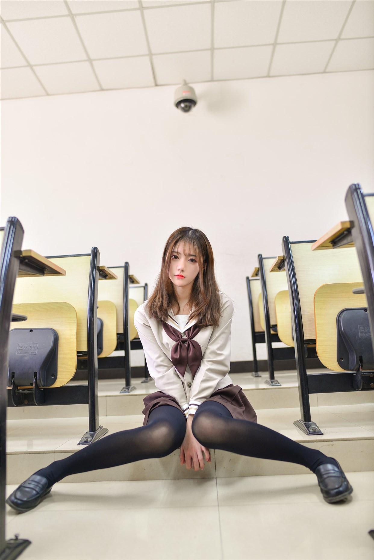 【兔玩映画】冬天里的JK黑丝 兔玩映画 第22张