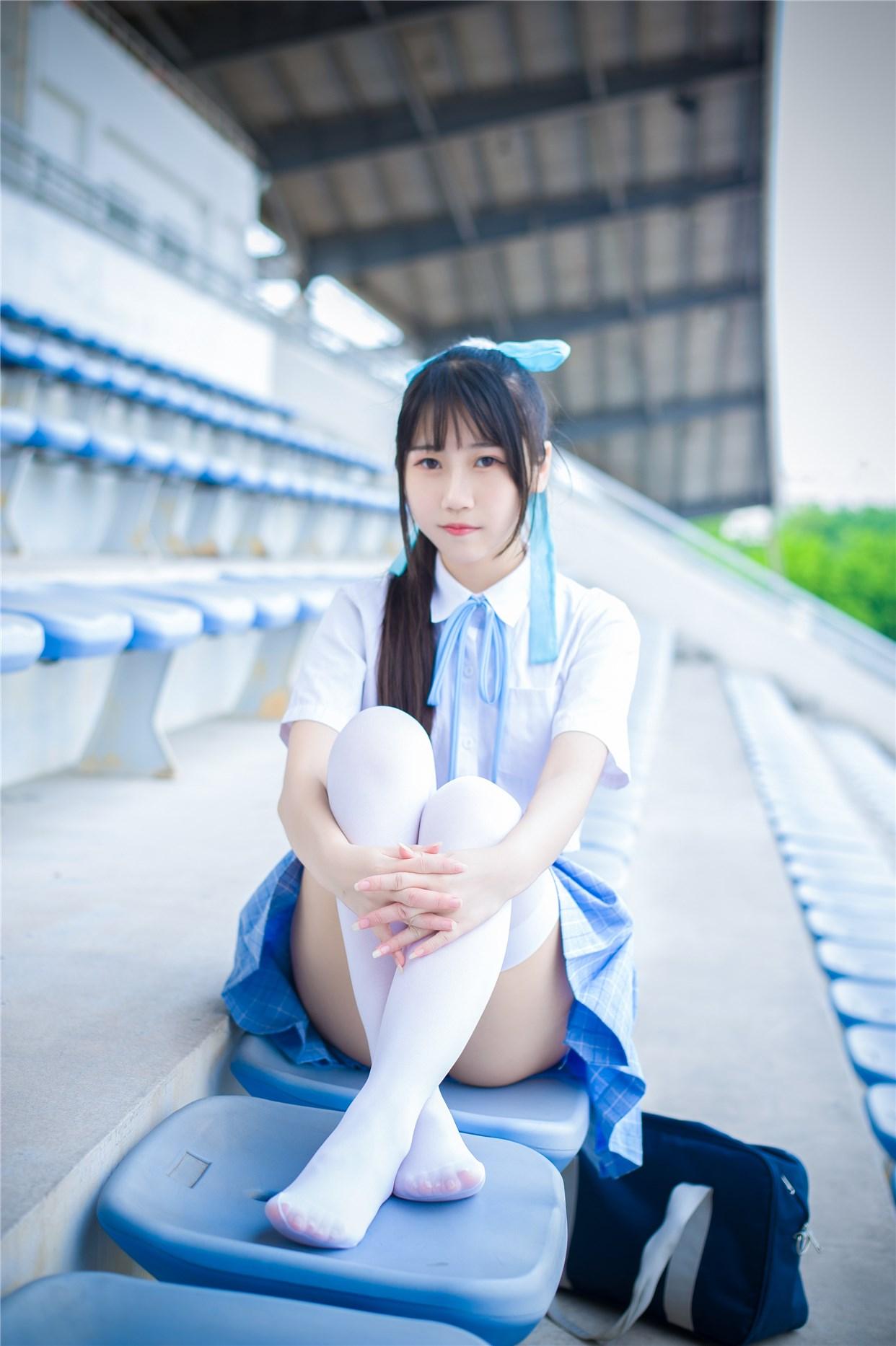 【兔玩映画】超清新的JK少女 兔玩映画 第31张
