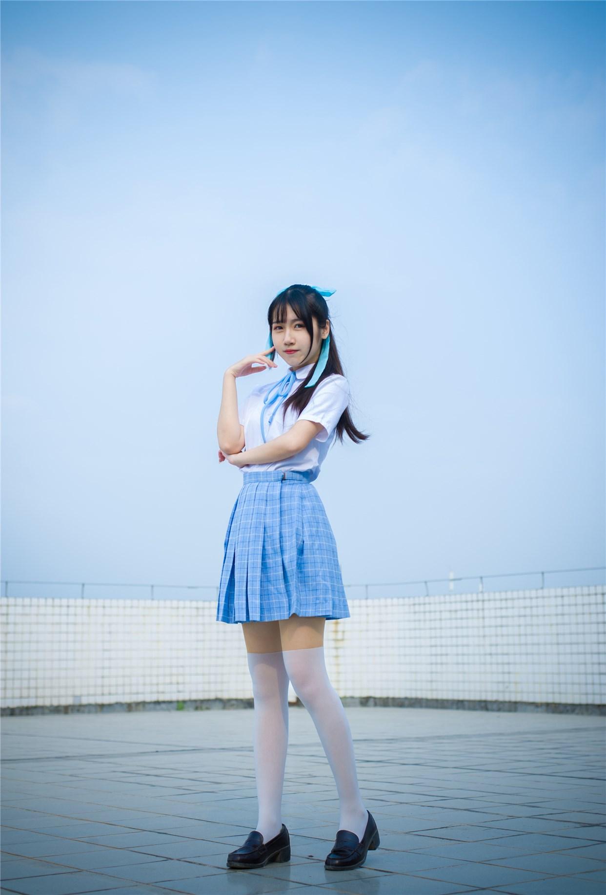 【兔玩映画】超清新的JK少女 兔玩映画 第25张