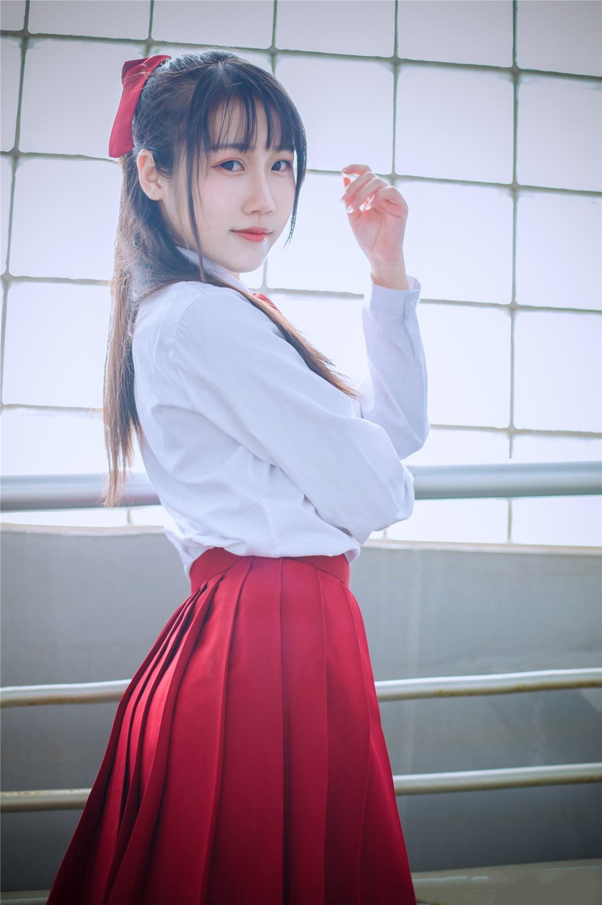 【兔玩映画】超清新的JK少女 兔玩映画 第16张