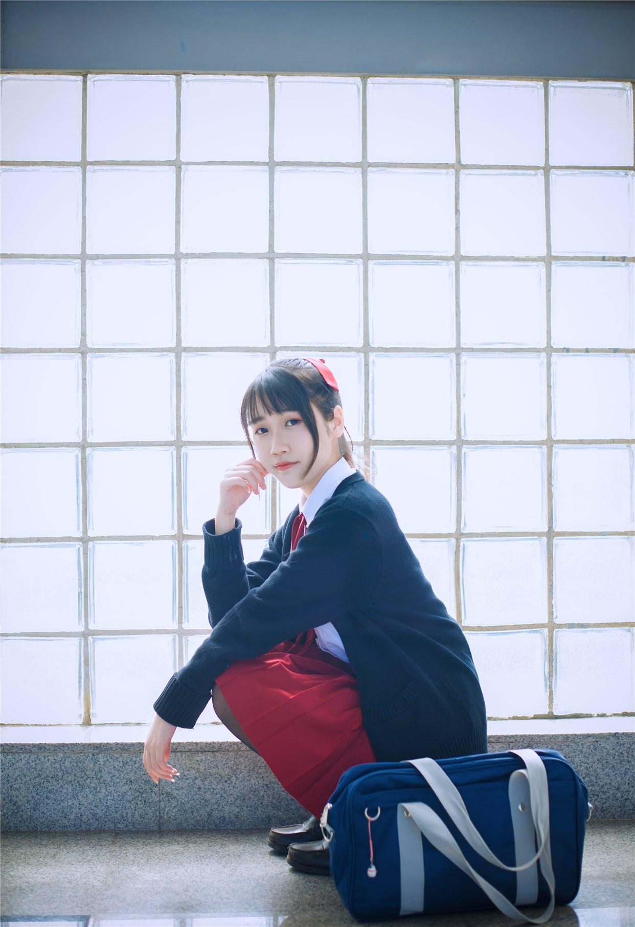 【兔玩映画】超清新的JK少女 兔玩映画 第12张