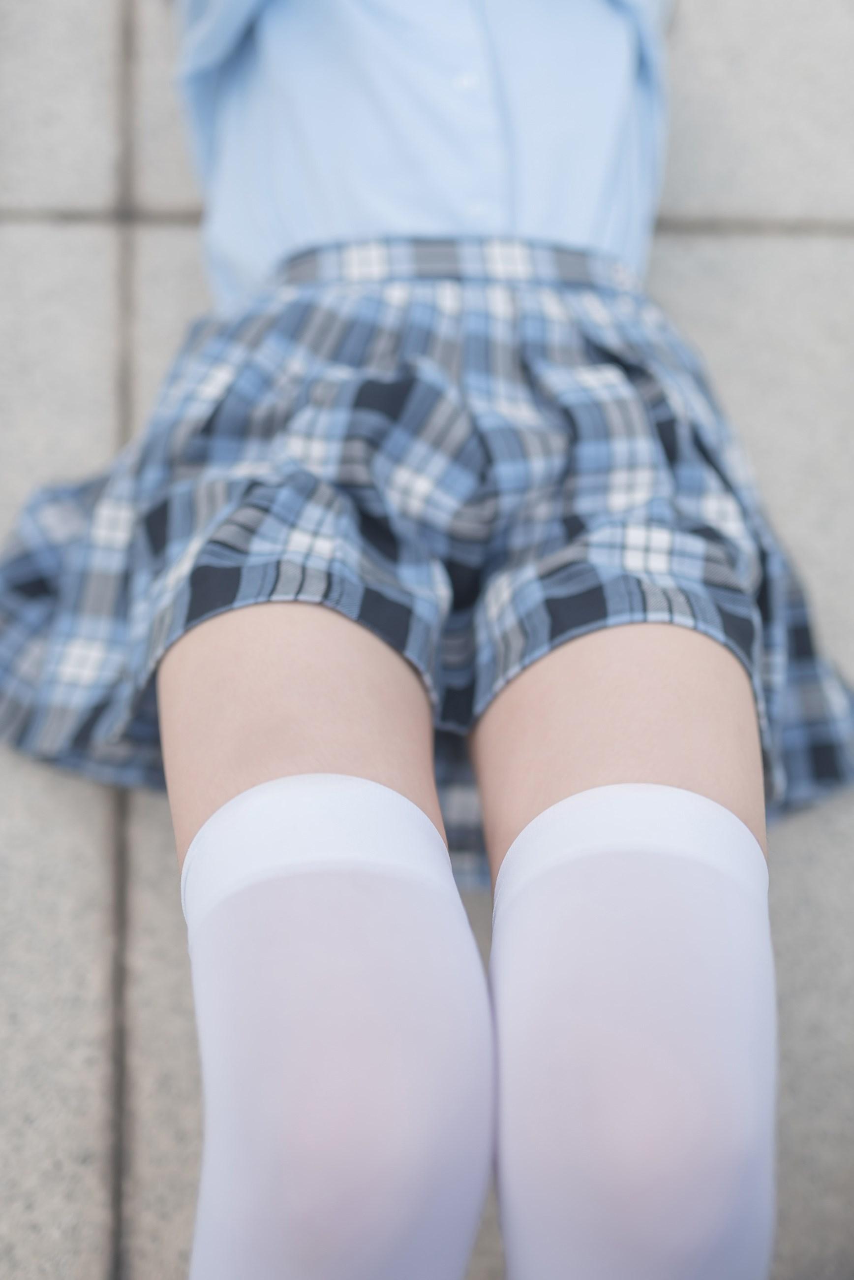 【兔玩映画】白丝格裙 兔玩映画 第38张