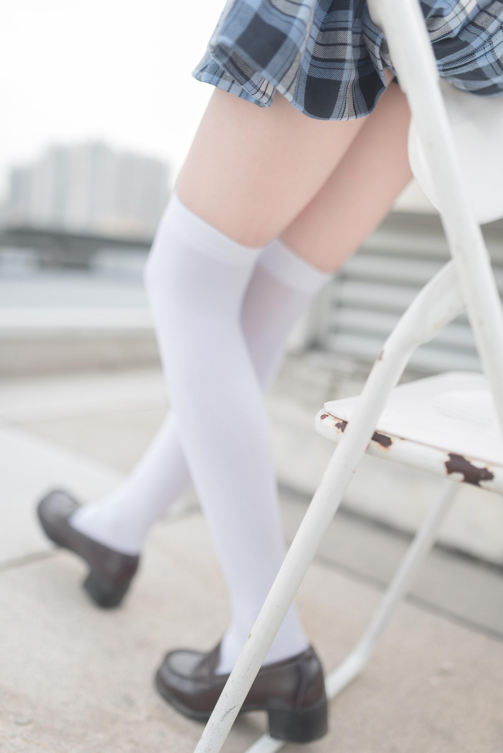 【兔玩映画】白丝格裙 兔玩映画 第34张
