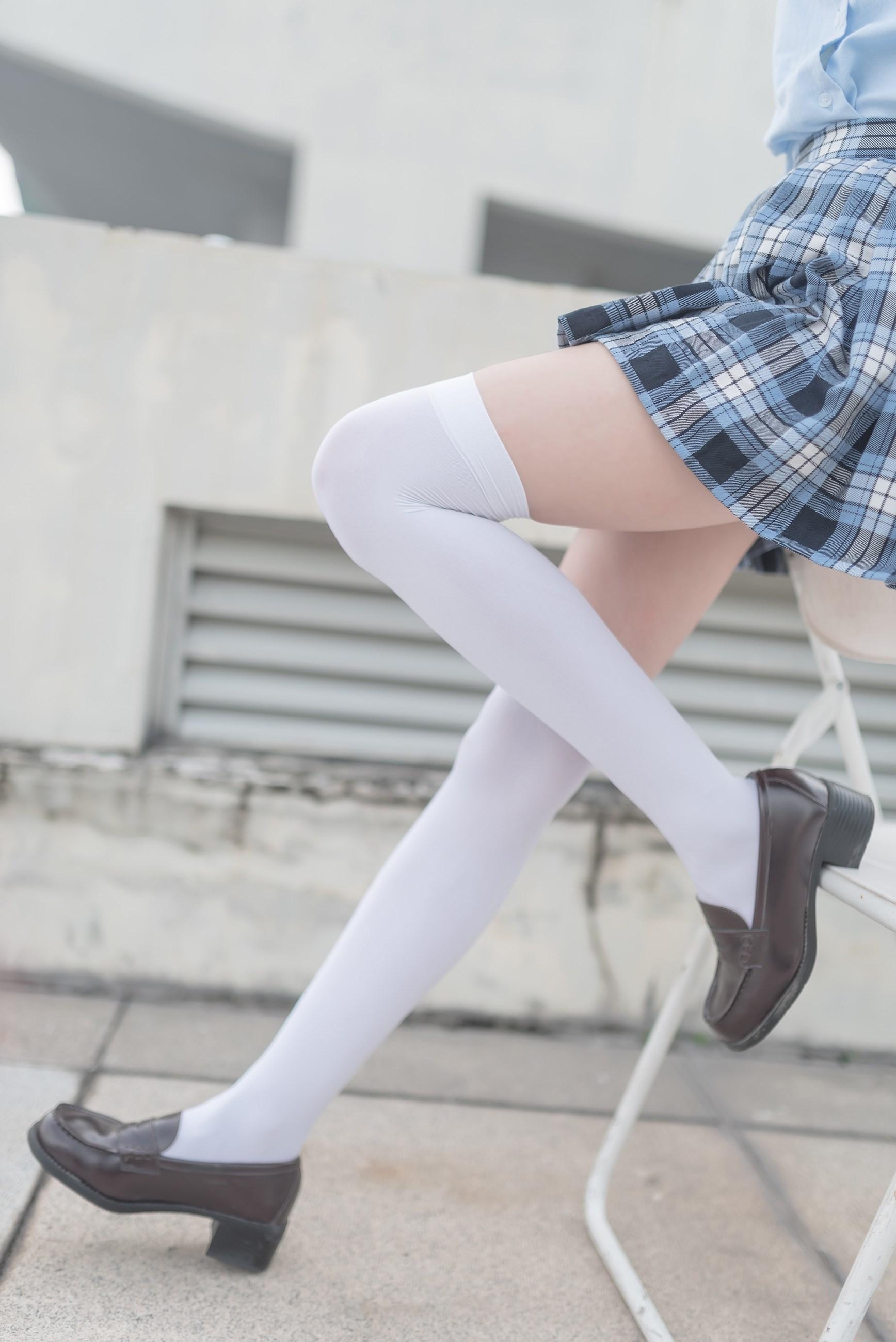 【兔玩映画】白丝格裙 兔玩映画 第31张