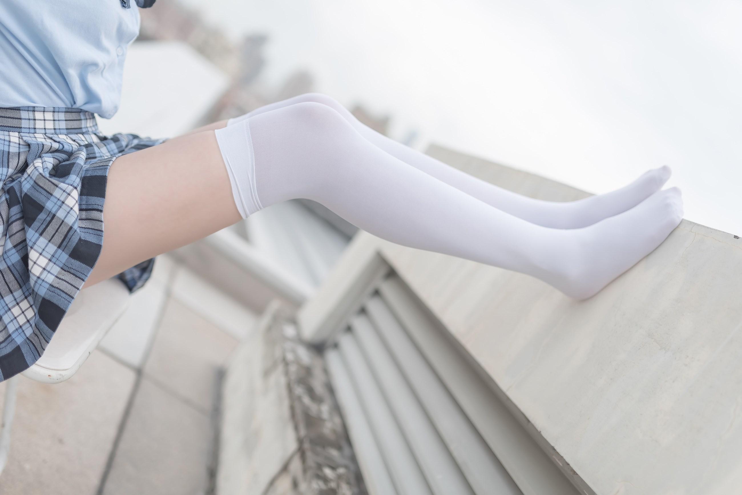 【兔玩映画】白丝格裙 兔玩映画 第25张