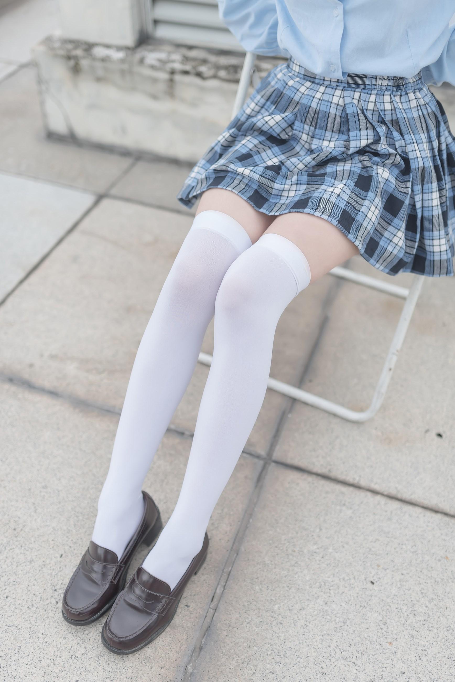 【兔玩映画】白丝格裙 兔玩映画 第12张