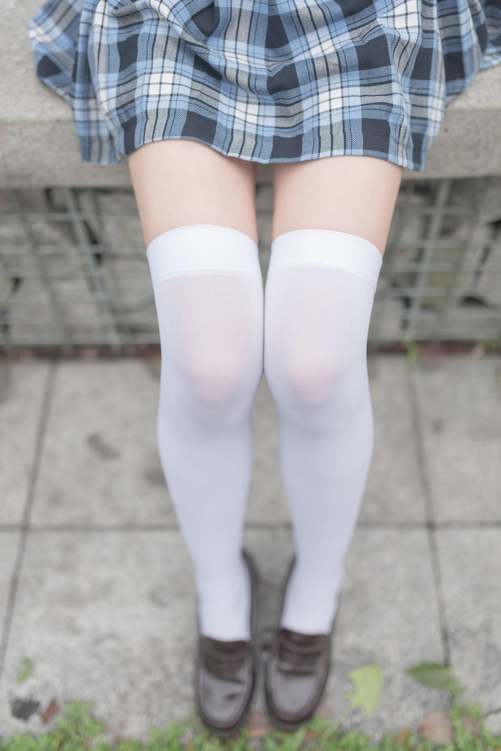 【兔玩映画】白丝格裙 兔玩映画 第7张