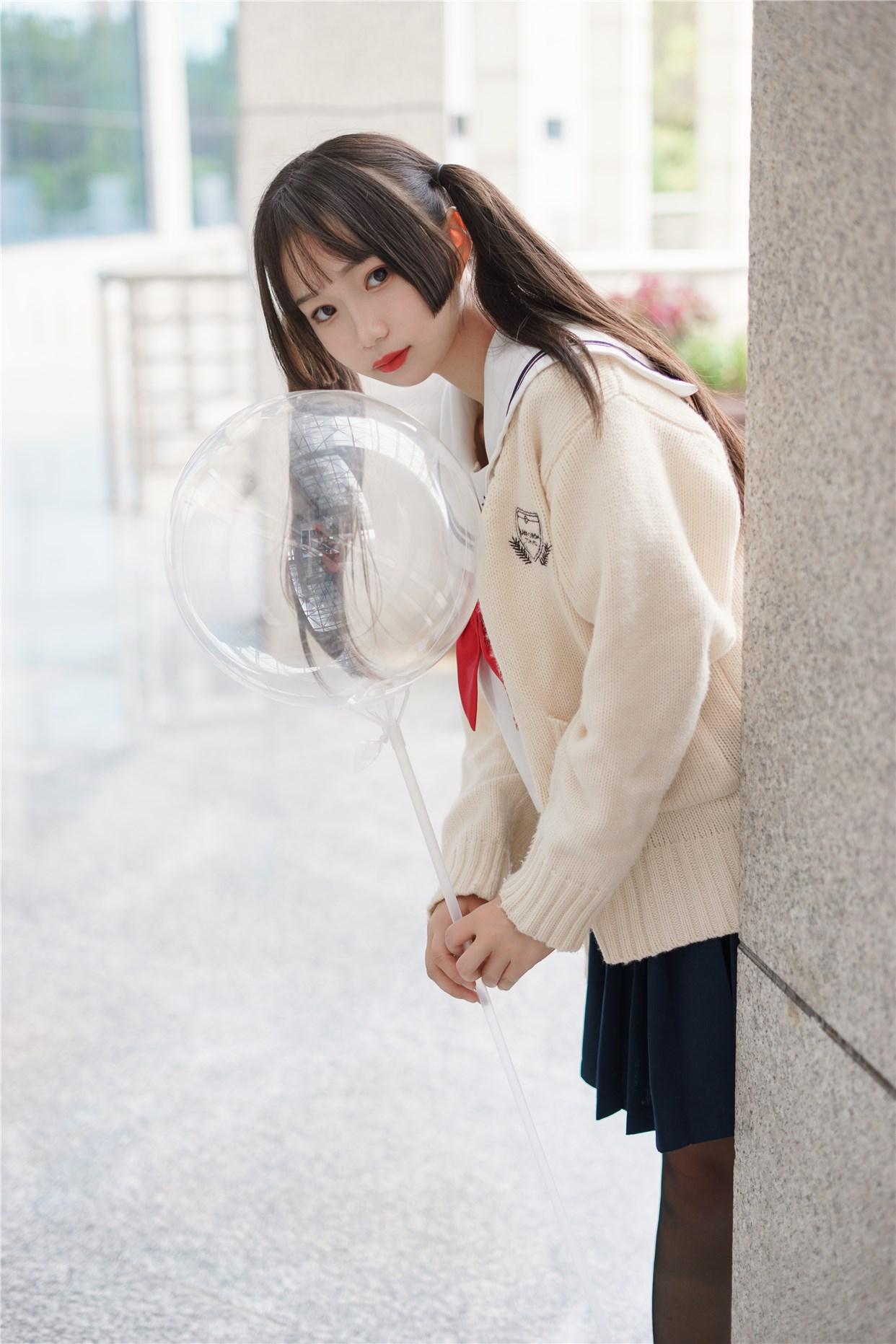 【兔玩映画】双马尾的JK少女 兔玩映画 第41张