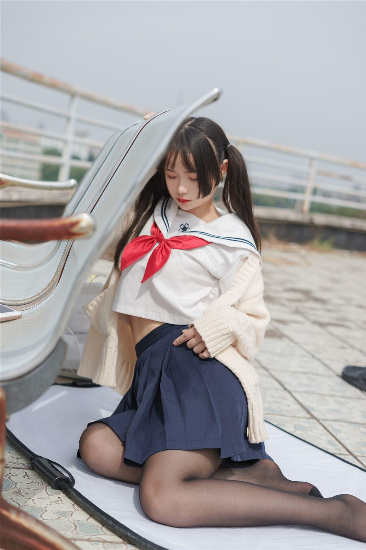 【兔玩映画】双马尾的JK少女 兔玩映画 第36张