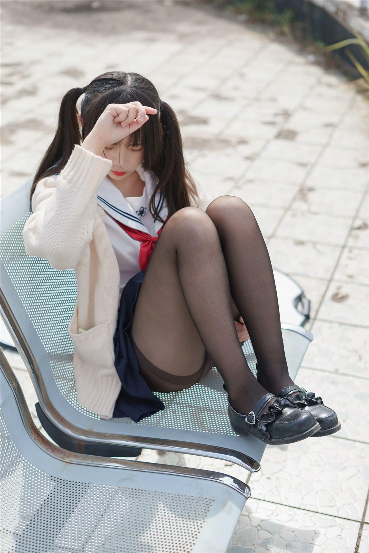 【兔玩映画】双马尾的JK少女 兔玩映画 第25张