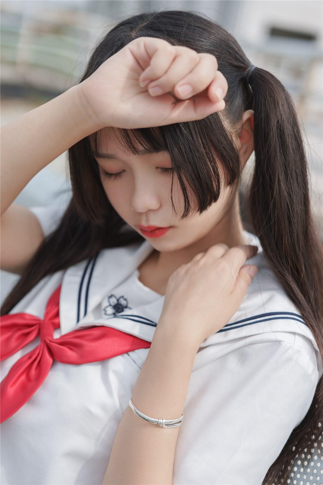 【兔玩映画】双马尾的JK少女 兔玩映画 第9张