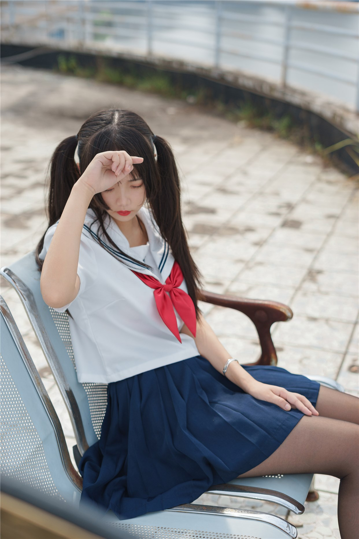 【兔玩映画】双马尾的JK少女 兔玩映画 第11张