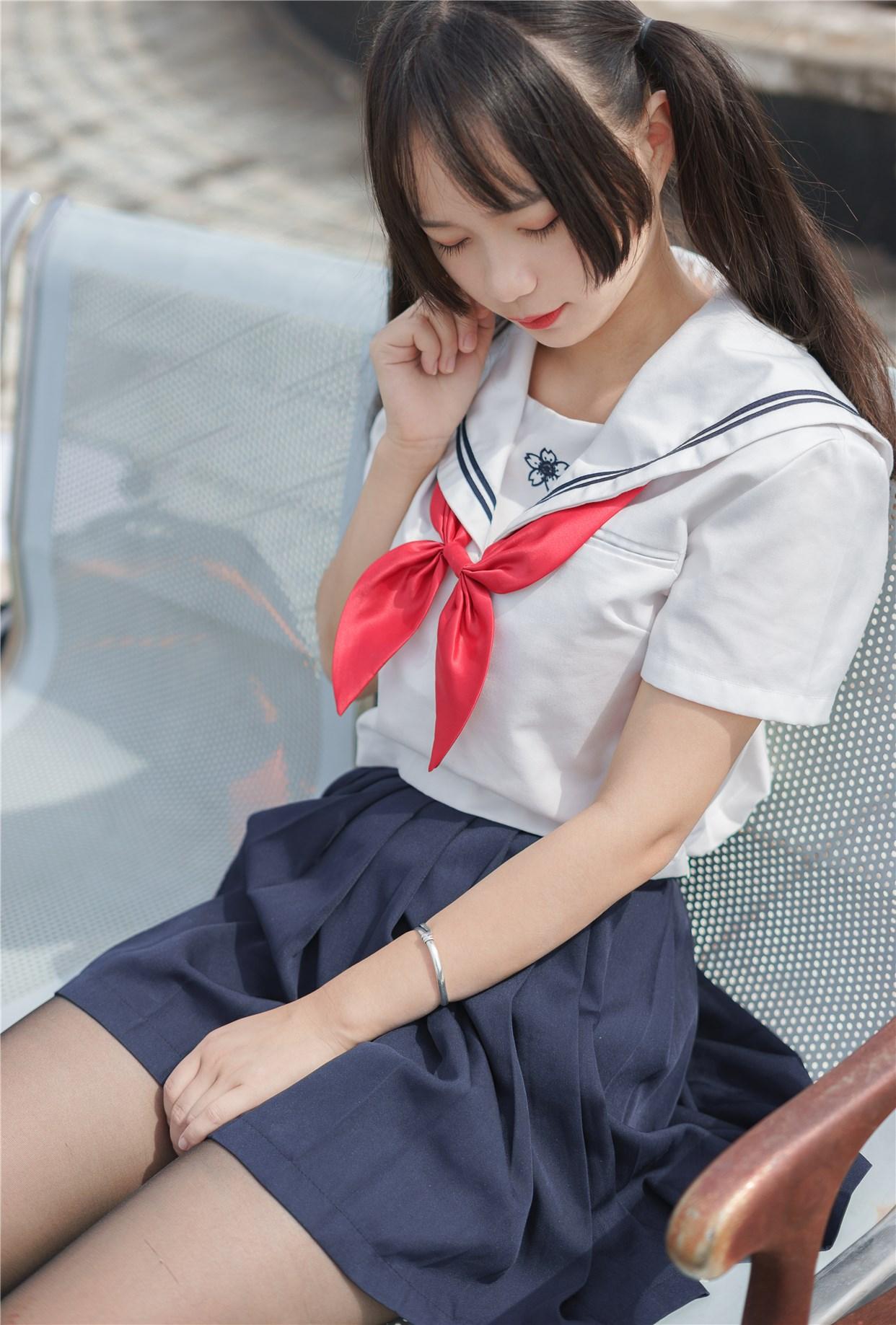 【兔玩映画】双马尾的JK少女 兔玩映画 第1张