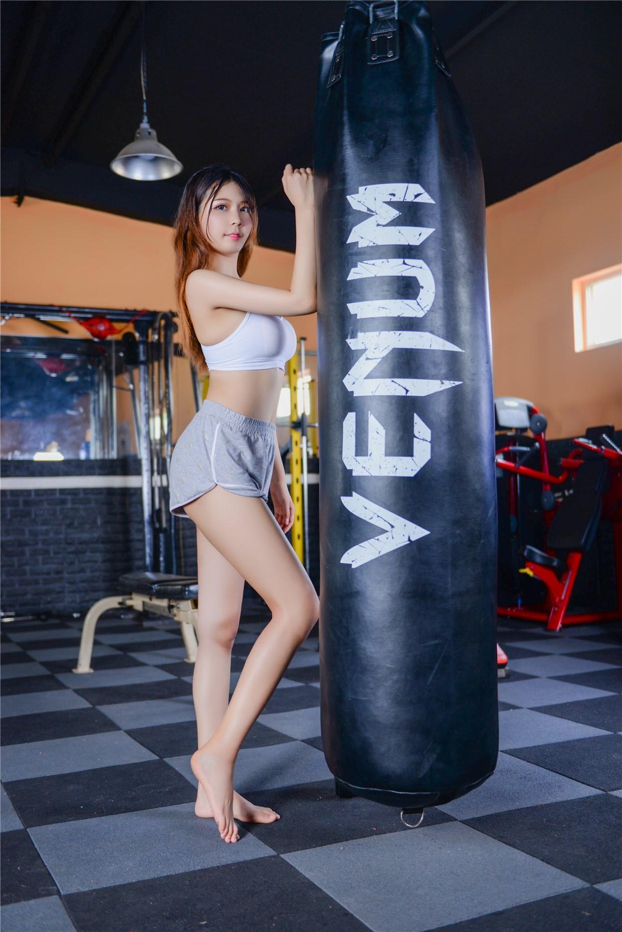 【兔玩映画】健身房的美少女 兔玩映画 第37张