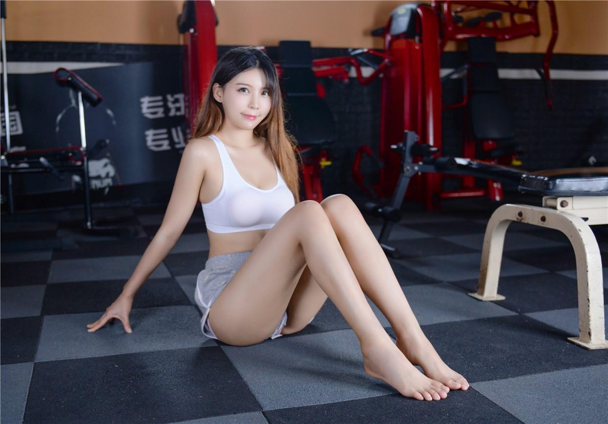 【兔玩映画】健身房的美少女 兔玩映画 第35张