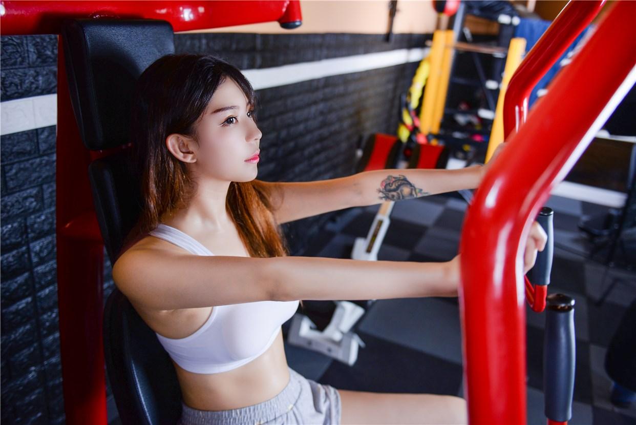 【兔玩映画】健身房的美少女 兔玩映画 第25张